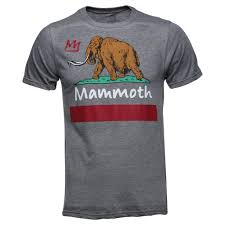 Flag T Shirt Cali Flag T Shirt Mammoth Mountain