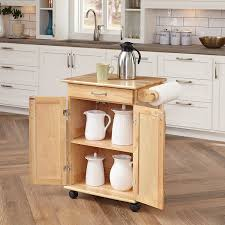 solid wood kitchen island cart home styles 5040 95 paneled door kitchen cart