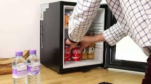 cheap glass door bar fridge iceq 24 litre glass door mini bar fridge black youtube