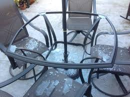 Glass Table Top For Patio Furniture Collection In Patio Table Replacement Glass Early This Morning We