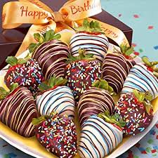 where to buy chocolate dipped strawberries golden state fruit 12 happy birthday chocolate
