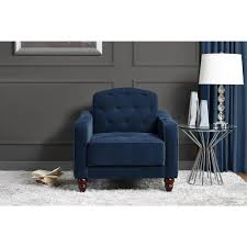 dining room navy wingback chair wingback chair