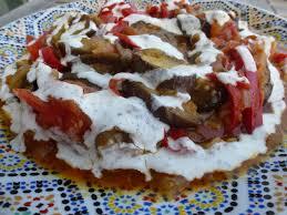 cuisine afghane bandjan bourani aubergines façon afghane un grain de flolie