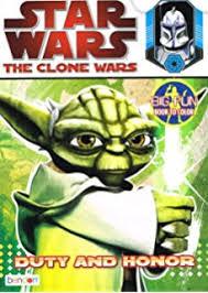 amazon com star wars the clone wars big fun book to color hold