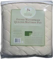 Crib Mattress Waterproof Cover Abc Organic Waterproof Mattress Pad Crib Babyearth