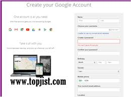 Gmail Sign Up How To Create Gmail Account Gmail Sign Up Gmail Login