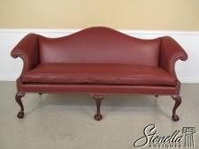 Camel Back Leather Sofa Mahogany Leather Sofas Ebay