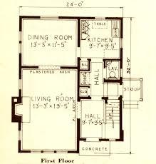 1930s Bungalow Floor Plans Sears Modern Homes Sears Modern Homes