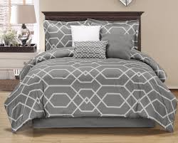 geometric pattern bedding amazon com chezmoi collection hton 7 piece geometric hexagon