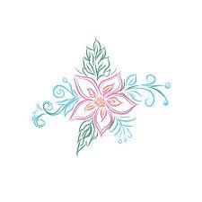 floral design flower sketch illustrations creative market