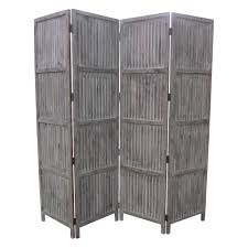 white room divider patina screen sg 155a 7 ft gray 4 panel room divider sg 155a