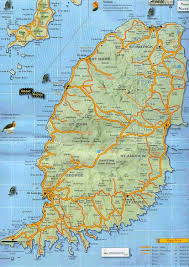 A Map Of The Caribbean Map Of Grenada In The Caribbean You Can See A Map Of Many Places