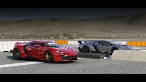 lamborghini veneno vs bugatti veyron race lykan hypersport vs lamborghini veneno drag race forza 6