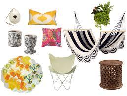 bohemian outdoor patio accessories decorist