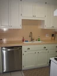 painting kitchen modern cabinets white before and after painting