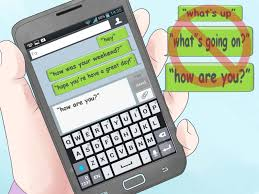 the best way to text message someone you like wikihow