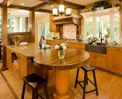 Kitchen Laminate Flooring Ideas Kitchen Charming Kitchen Island With Sink On Wooden Floor Ideas