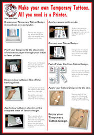 laser tattoo paper temporary tattoos in australia blog