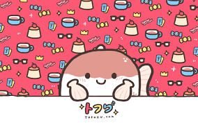 creepy kawaii background kawaii japanese food characters