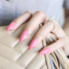 compare prices on pink pointed nails online shopping buy low
