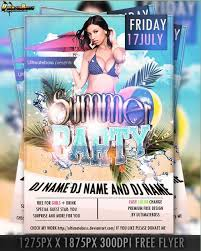 15 free party and event flyer psd templates xdesigns