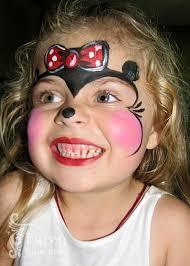 minnie mouse face painting design children u0027s entertainment idea