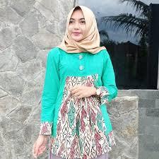 model baju model baju batik modern untuk wanita fashion muslim fashion muslim