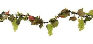 christmas garland with lights vickerman tuscan winery grape cluster artificial christmas garland