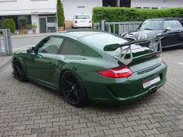 porsche 911 dark green unique british racing green porsche 911 gt3 rs for sale gtspirit