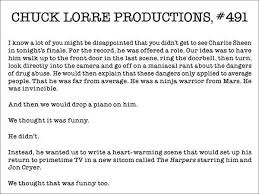 Vanity Card 5 Answers Will Charlie Sheen Return To U0027two And A Half Men U0027 Quora