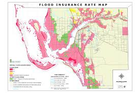 Fort Myers Florida Map by Flood Insurance Rate Maps