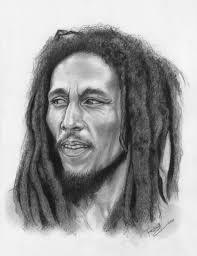 drawing of bob hair bob marley sketch by renescar on deviantart