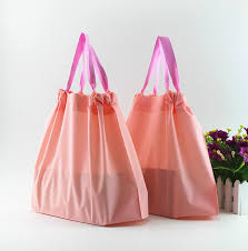 drawstring gift bags drawstring plastic bags wholesale qi wholesale creative orange