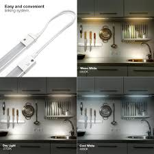under cabinet lighting systems amazon com led concepts under cabinet light bar with 3 color