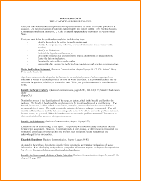 analytical report template 3 sle of formal report model resumed