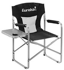 amazon black friday chair amazon com eureka director chair with side table sports