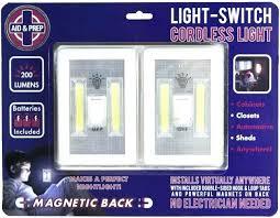 cob led wireless night light with switch light switch cordless light light switch dual cob led wireless night