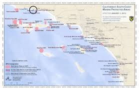 Map Of The Coast Of California Scouting The Mpas