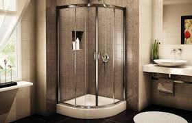elegant corner shower stalls for mobile homes inspiration of