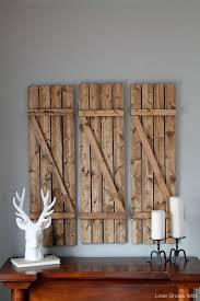 20 Diy Faux Barn Wood Finishes For Any Type Of Wood Shelterness by Diy Barn Wood Shutters Love Grows Wild