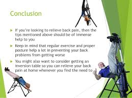 do inversion tables help back pain are inversion tables the best back pain exercise machine