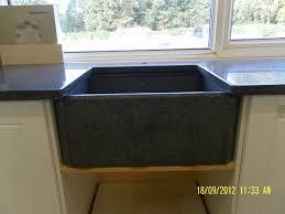 Kitchen Sink Black Granite by Black Granite Belfast Sink U2014 Interior U0026 Exterior Doors Design