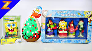 Character Christmas Ornaments Spongebob Squarepants Christmas Ornaments Play Doh Surprise Egg