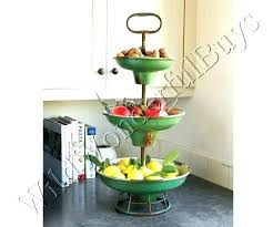 3 tier fruit basket 3 tier metal fruit basket 3 tier fruit stand basket earthdeli