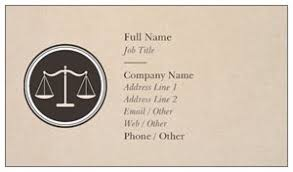 Business Cards Attorney Attorney Business Cards Vistaprint