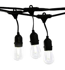 Commercial Patio String Lights by Outdoor String Lights Dimmable Type Pixelmari Com
