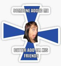 Meme Stickers For Facebook - facebook troll face stickers redbubble