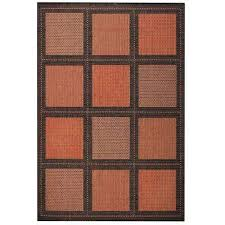 Outdoor Rug Square Orange Outdoor Rugs Rugs The Home Depot