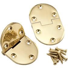 amazon com bright brass butler tray hinges 2 1 2 u0027 u0027l home