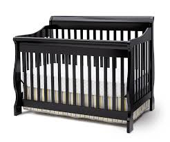 Black 4 In 1 Convertible Crib Delta Children Canton 4 In 1 Convertible Crib Black